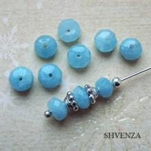 Бусины голубой кварц 006-010